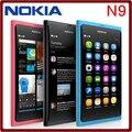 Nokia N9, desbloqueado 8MP 16 GB ROM 1 GB RAM GPS 3 G WIFI Bluetooth de los teléfonos celulares