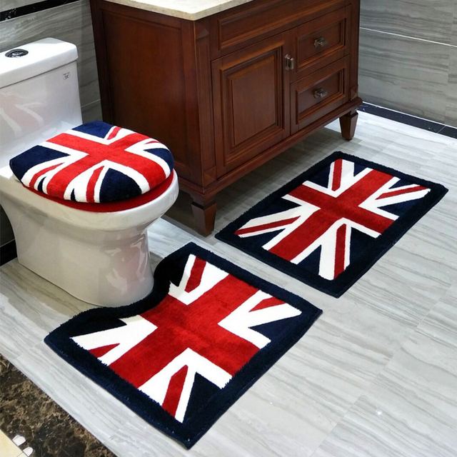 New Design thickening Classical Comfortable toilet seat cover O-ring Bathroom Mat Gift Potty Closestool Lid Cover
