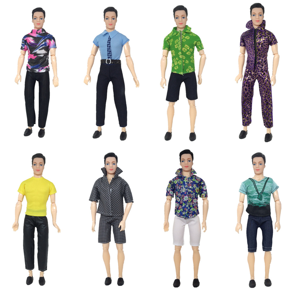 30cm Josephina Ken Prince Doll with Different Social Roles <font><b>Clothes</b></font> Suit Girls Christmas Gift Toys &#038; Doll Accessories