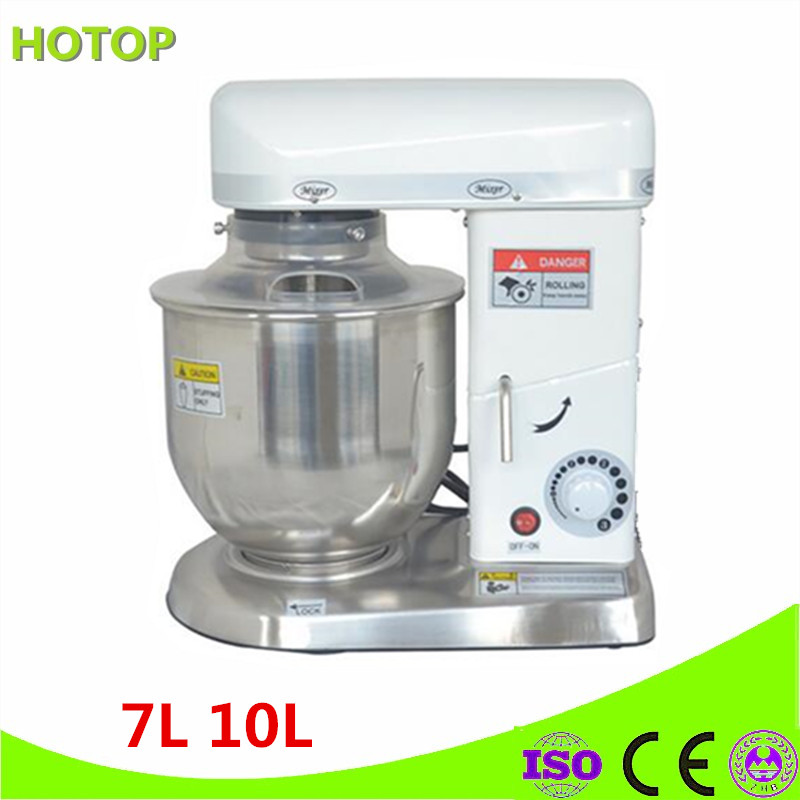 3 Speeds Electric Cooking Stand Food Mixer Egg Beater Dough Blender Baking Whipping Cream Tilt Head Kitchen Chef Machine