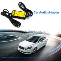 Kuulee Adapter Auto Audio MP3 Player VGA Interface USB AUX Cable MP3 Adapter Decoder Auto CD Changer for VW Skoda Golf