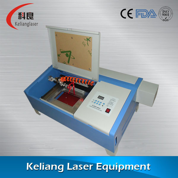 Low Price Professional Model K40 Laser Stamp Machine To Make Rubber Stamps