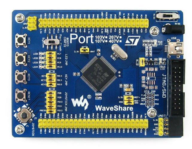 Free Shipping! STM32F103VET6 STM32 development board ARM development board system board