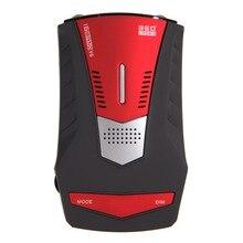 De Calidad superior V6 Coche Anti-Policía LED Display GPS Detector de Radar con el Ruso/Inglés Voz de coches-detector