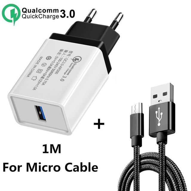 5V 3.5A QC3.0 Universal Fast charging Phone Charger for iphone XS HuaweITravel Charger Wall Adapter for Xiaomi Samsung tablets