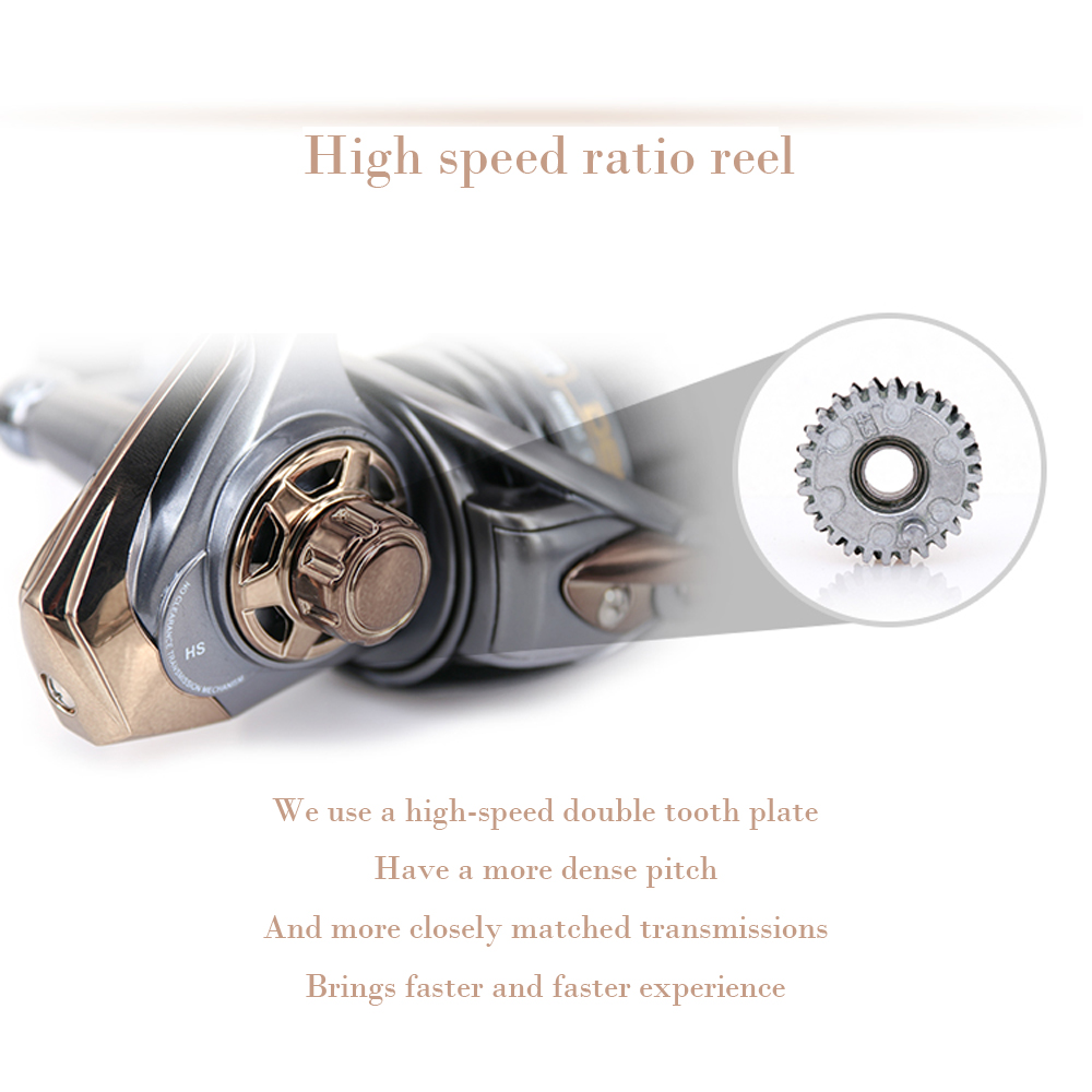 2019 Hot sale High-speed 7.1: 1 Carretel