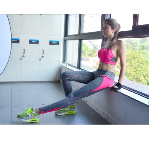 Women font b Yoga b font font b Sets b font Bra Pants Fitness Workout Clothing