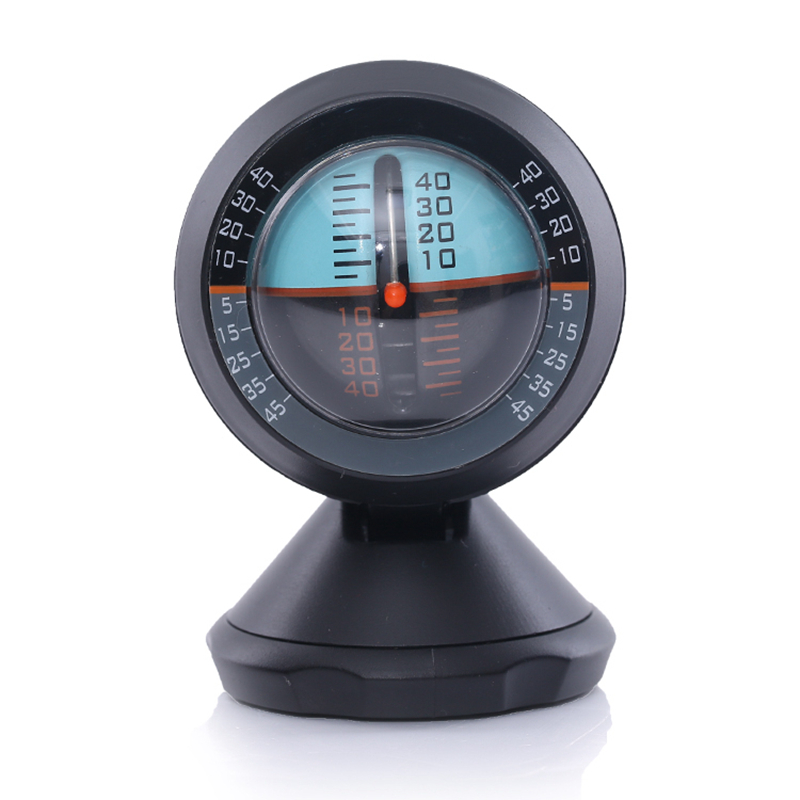 Car Inclinometer Level Tilt Gauge Indicator Gradient Balancer Tool For Off-road Vehicle and Self-driving Travelling Supplies