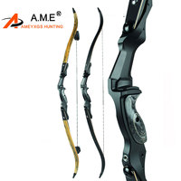 30 60lbs Archery Recurve Bow Draw Weight Alloy Aluminum Bow Arrow Camping Slingshot arco e flecha Arossbow RH LH Hunting