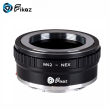 Fikaz M42-NEX Lens Mount Adapter Ring For M42 Lens to Sony NEX E-Mount Camera for Sony Alpha A7 A7R NEX-7 NEX-6 NEX-5N NEX-5 pixco cy nex tripod lens adapter suit for contax c y lens to sony nex a5000 a3000 nex 3 nex 5 nex 5t nex 3n nex 3c nex 5n camera