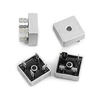 Diodo de potencia Puente rectificador de diodo, 50A, 600V, KBPC5006, con carcasa de Metal, componentes electrónicos, KBPC 5006