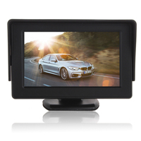4 3 Inch High Definition LCD Car Monitor Digital Panel Car Rearview LCD Monitor
