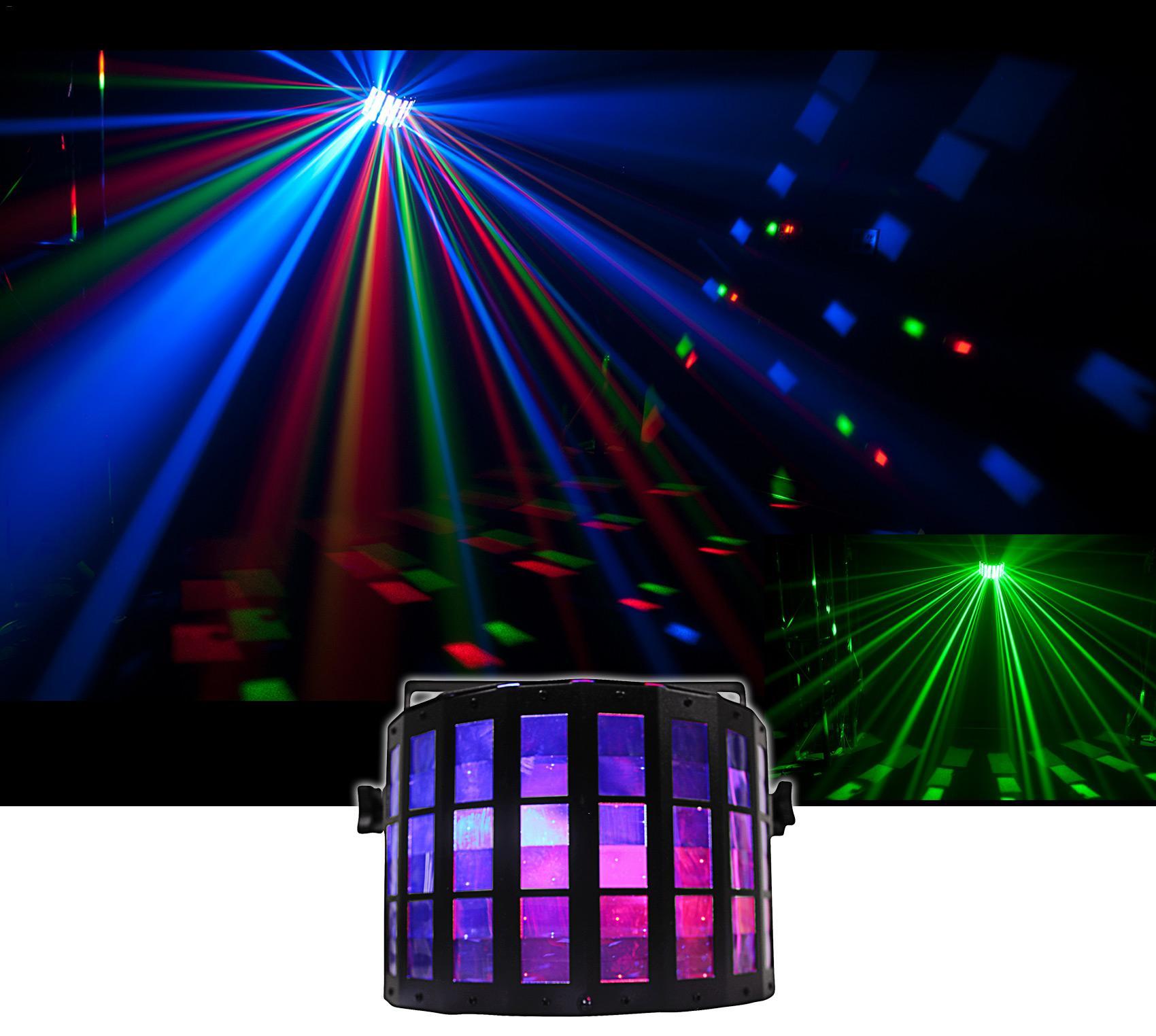 Kaigelin DJ Club Disco Stage Lighting Dance Club Bar Disco Coffee Shop Home Party Xmas Effect Lighting Multi functional stage