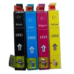 Cartucho de tinta para epson workfore t1931-t1934 wf-2521 wf-2531 wf-2541