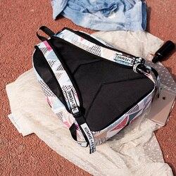 Wodoodporna szkoła Plecak dla nastolatek Mochila Escolar tornister Szkolny drukowanie Plecak Szkolny Nylon Zaino Scuola 5