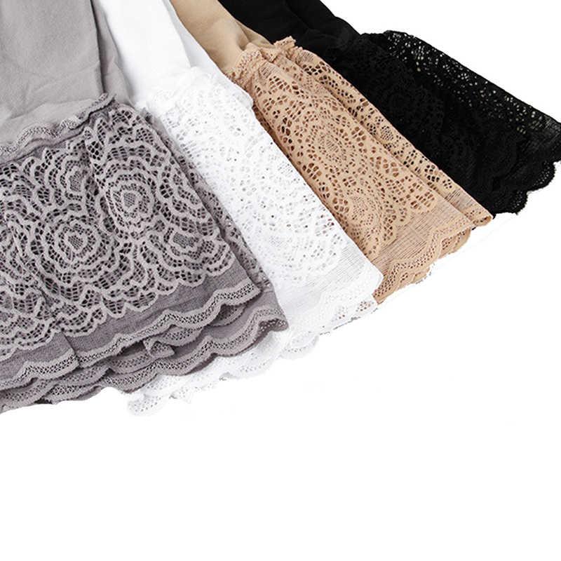 Kobiety koronki krótkie spodnie Ropa wnętrze Femenina krótkie spodnie bielizna bokserki damskie wygodne majtki