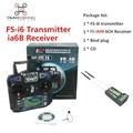 Flysky FS i6 Transimitter iA6b FS-i6 2A 2.4 GHz 6CH Receptor RC Controlador DO Transmissor para RC Helicóptero Quadcopter FPV Planador