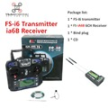 Flysky FS i6 Transimitter  iA6b Receiver FS-i6 2A 2.4GHz 6CH RC Transmitter Controller for RC Quadcopter Helicopter Glider FPV
