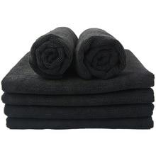 Sinland Microfiber Haar Drogen Handdoek Schoonheidssalon Spa Bad Handdoeken Sneldrogende Voor Home Hotel 41Cm X 69Cm 6 Pack Zwart Donkerblauw