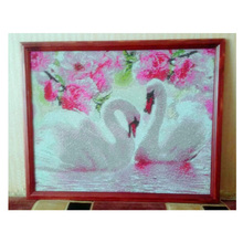 Two Swans Diamond Painting