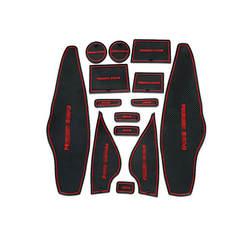 Teeze Высокое качество 1 компл. Нескользящие подкладке мягкой резины дверь Панель коврики обладатель Кубка pad для Peugeot 3008