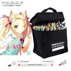 Эскиз Цвет маркером Finecolour Архитектура на спиртовой основе Книги по искусству маркеры 10 36 48 60 72 Цвета комплект Manga маркер для рисунок