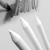 3 pcs 혼합 얼룩 그루터기 스케치 숯 아트 드로잉 도구 페인트 브러시 아트 용품 편지지 수채화 페인트 세트|스케치 숯 연필|사무실 & 학교 용품 -