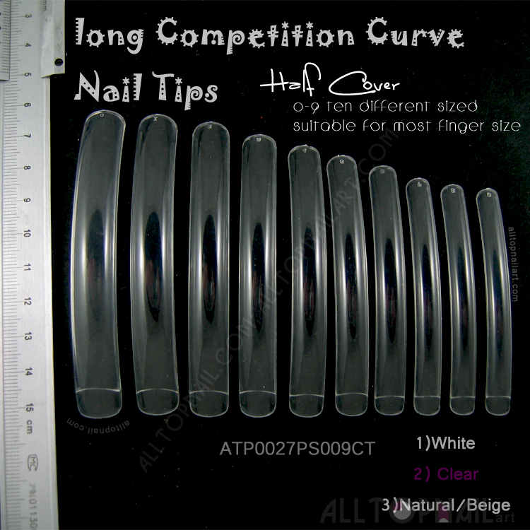 Long Competition Curve False Nails Professional Extreme Long Nail ...