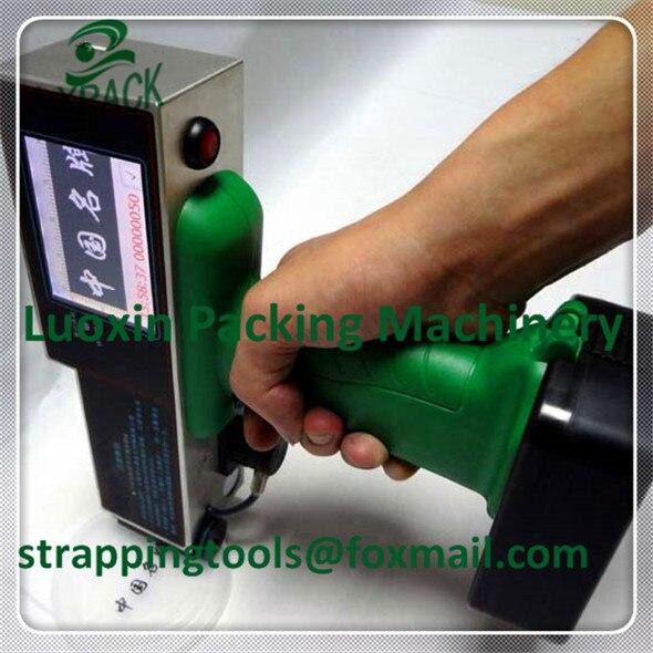 LX-PACK Thấp Nhất Nhà Máy Giá mã hóa thiết bị đánh dấu mỹ phẩm ghi nhãn nhiệt trực tiếp nhãn cầm tay máy in phun coder