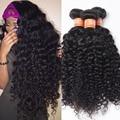 Бразильский Kinky Вьющиеся Волосы Девственницы Unice Бразильские Вьющиеся Волосы Девственные Ткет 3 Пучки Сделок Afro Kinky Курчавый Бразильский Человеческих Волос