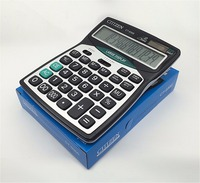Big Buttons Office Calculator Large Computer Keys CT 9300 Muti Function Computer Battery Calculator