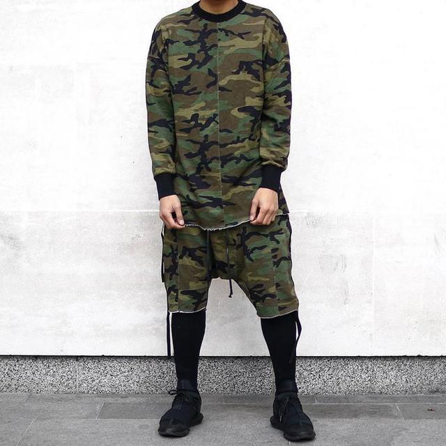 HEYGUYS Original Design Spring Autumn Brand  Men Hoodies Tracksuits Hooded Men Male Warm Thick Sweatshirt Camouflage Hoodies