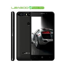 LEAGOO KIICAA כוח אנדרואיד 7.0 מצלמה כפולה טלפון נייד 4000mAh 5.0 אינץ MT6580A Quad Core 2GB RAM 16GB טביעות אצבע Smartphone