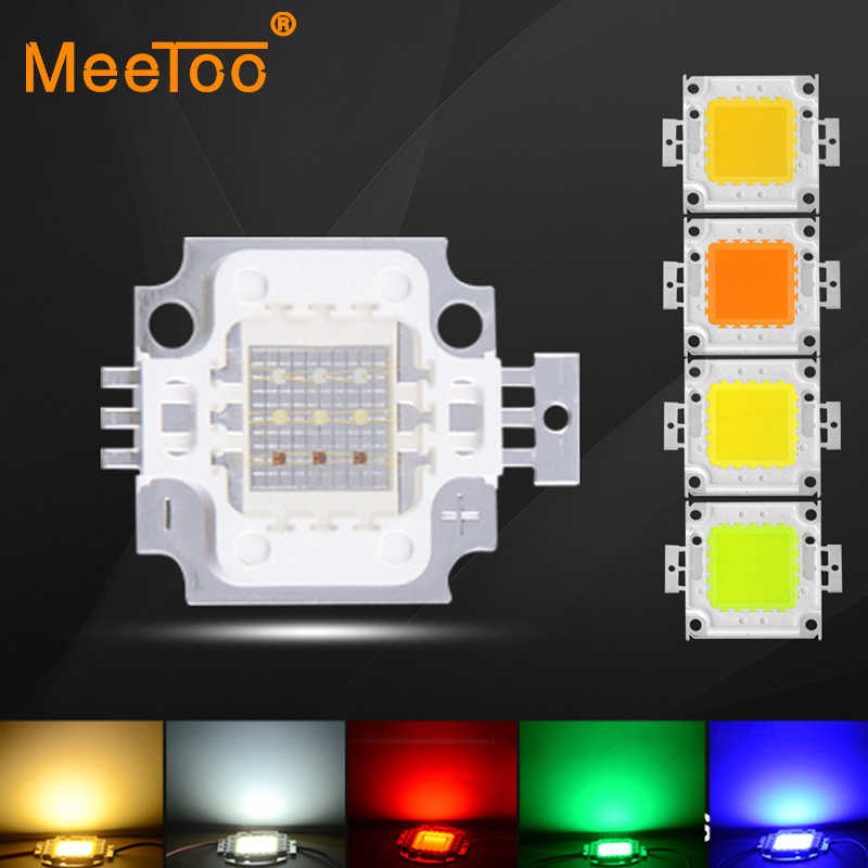 Full 10W 20W 30W 50W 100W LED COB Integrated LED Matrix Floodlight Lamp DIY In Warm White / White / Red / Green / Blue / RGB