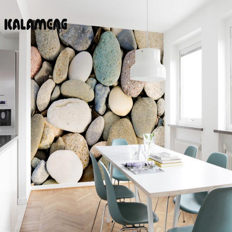 KALAMENG Benutzerdefinierte 3D Wallpaper Design Farbige Stein Foto Kche Schlafzimmer Wohnzimmer Wandmalereien Papel De Parede Para