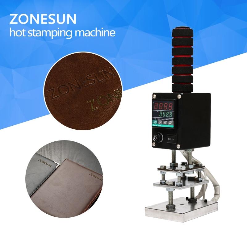 ZONESUN 500W Digital Electric wood Branding Iron, leather branding iron, handheld branding iron, electric branding iron electric iron ladomir 64k