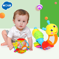 Developmental Baby Rattle Ball Plush Hand Rattles Bell Training Grasping Ability Toy For Baby Toys 0 12 Months Ring Toys