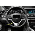 Chrom!Interior Accessories Steering Wheel Decoration Cover Trim ABS 1pcs For BMW 5 series F10 2011-2014 Car Styling