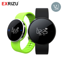 EXRIZU UW1X Smart Wristband OLED Bluetooth Band Waterproof Blood Pressure & Heart Rate Monitor Sport Fitness Bracelet Pedometer