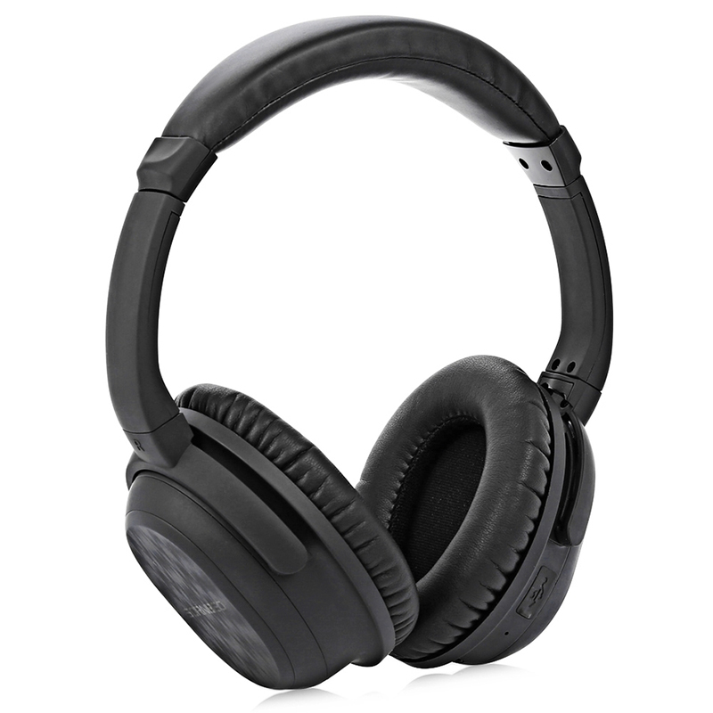 Bluetooth Headphone Active Noise Cancelling Foldable Music Player With Mic Headset Headphone For Cellphone xiomi iPhone Computer new style portable wireless bluetooth foldable headphone noise cancelling headset