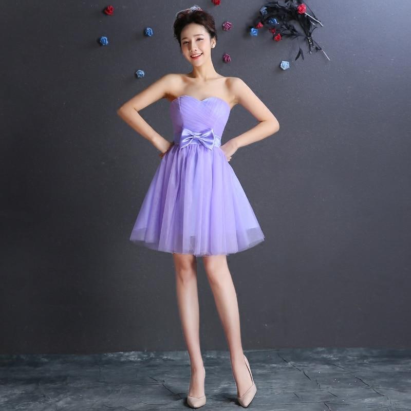 Increíble Vestidos De Dama Corto De Coral Composición - Ideas de ...