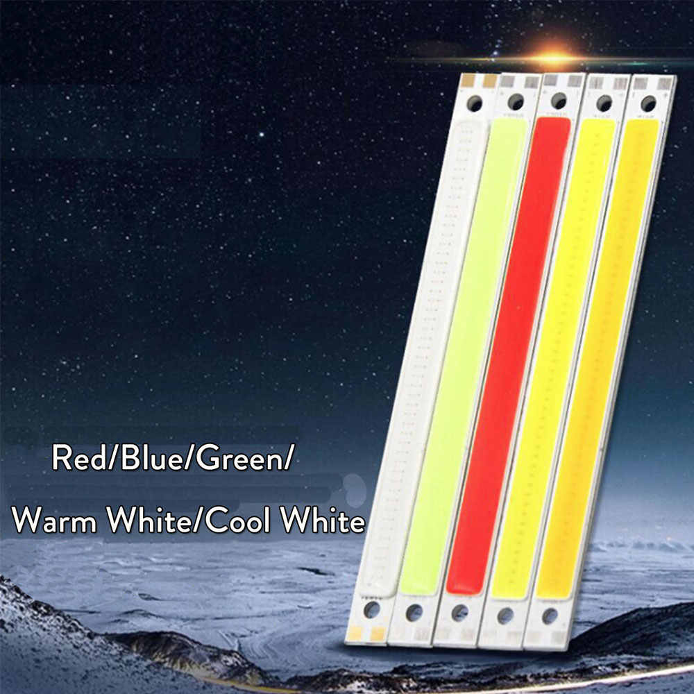 10W LED Beads Blue Red Green Cool / Warm White DC 12V 14V COB Strip LED Lamp Bulb Lighting Source For DIY Led Floodlight Decor