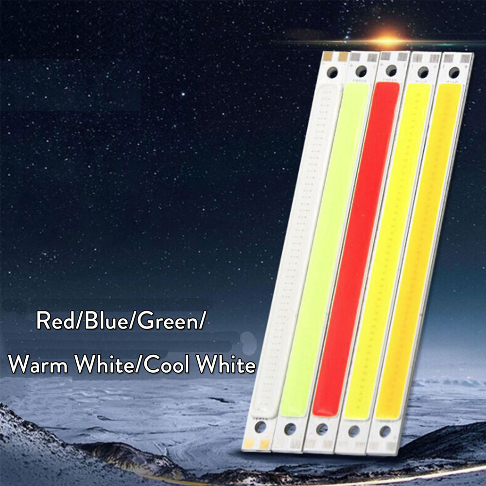 10W LED Beads Blue Red Green Cool / Warm White DC 12V 14V COB Strip LED Lamp Bulb Lighting Source For DIY Led Floodlight Decor цена