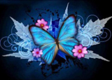 Butterfly diamond painting cross stitch 5d diy landscape full embroidery rhinestone Decoratio