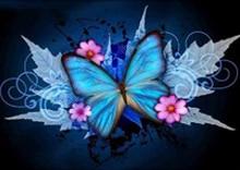 Butterfly diamond painting cross stitch 5d diy landscape full embroidery rhinestone Decoratio