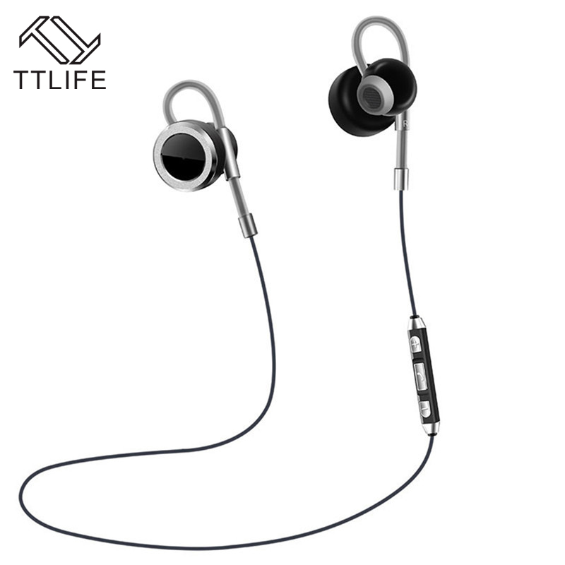 TTLIFE N2 Sports Bluetooth Earphone Wireless Headphones Stereo Volume Control Earbuds Music Headset With Microphone for iPhone 7 ttlife bluetooth earphone
