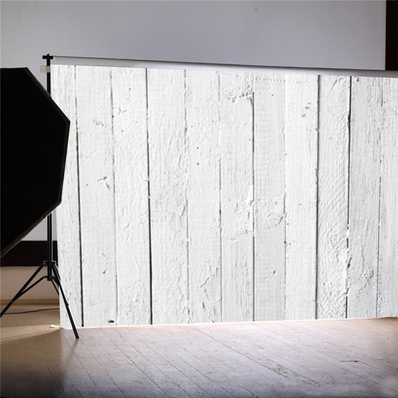 7x5ft Vinyl White Wood Floor Photography Background For Studio Photo Props Newborn Photographic Backdrops cloth 2.1x1.5m shengyongbao 300cm 200cm vinyl custom photography backdrops brick wall theme photo studio props photography background brw 12