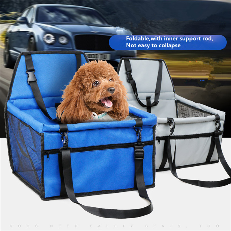 Rapture Dog Basket Folding Puppy Dog Bed Hammock Waterproof Pet Mat Car Seat Cover Dog Carrier With Traction Buckle Cama Para Dm151212-6 Cat Beds & Mats