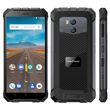"Get more info on the Ulefone Armor X IP68 Waterproof Mobile Phone Android 8.1 5.5"" HD Quad Core 2GB+16GB NFC Face ID Wireless Charge Smartphone"