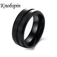 Black Jewelry Wholesale New Style Of Western Classic And Streamlined Tungsten Steel Ring Of Man